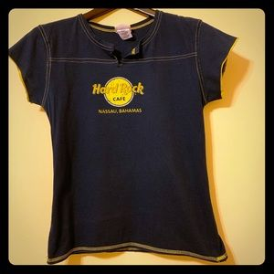 Hard rock café T-shirt (Navy)